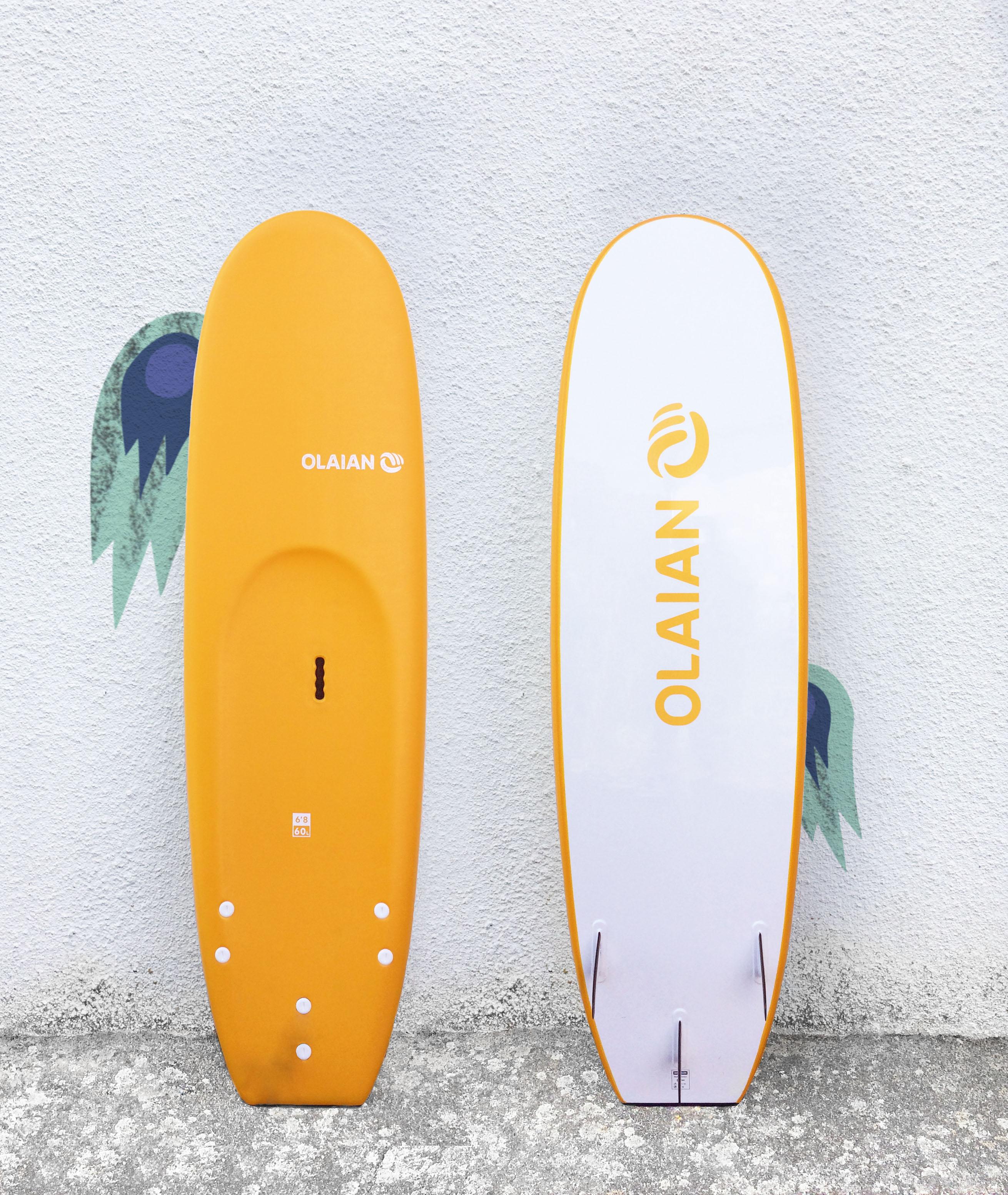 planche surf mousse olaian 6'8