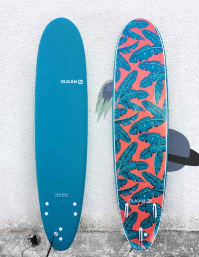 planche mousse surf olaian 7'8
